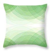 Nature Semi Circle Background Horizontal Throw Pillow