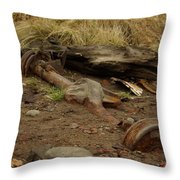 Nature Wins Throw Pillow