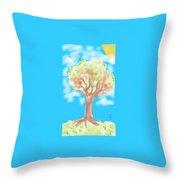 Naturely Throw Pillow