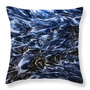 Natures Abstract Throw Pillow