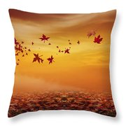 Nature's Art Throw Pillow by Lourry Legarde