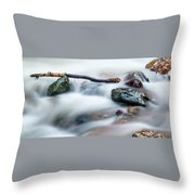 Natures Balance - White Water Rapids Throw Pillow