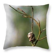 Nature's Ballet Throw Pillow