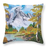 Nature's Beauty Throw Pillow by Sharon Duguay