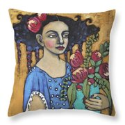 Nature's Bounty Throw Pillow