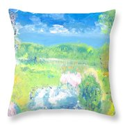 Natures Bounty Throw Pillow