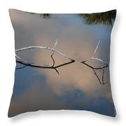 Natures Bridge In Color Throw Pillow