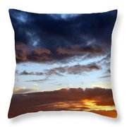 Nature's Canvas Throw Pillow