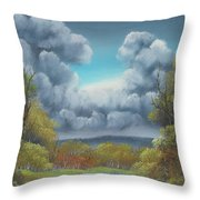 Nature's Carnival Throw Pillow