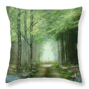 Nature's Cathedral  Throw Pillow