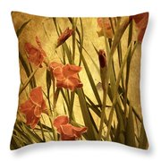 Nature's Chaos In Spring Throw Pillow