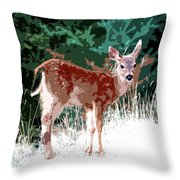 Natures Child Throw Pillow