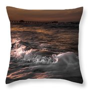 Natures Drama 3 Throw Pillow
