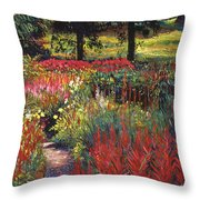 Nature's Dreamscape Throw Pillow