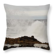 Nature's Force Throw Pillow
