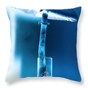Nature's Funky Light Throw Pillow