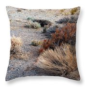 Natures Garden - Utah Throw Pillow
