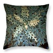 Nature's Glow II Throw Pillow
