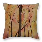 Natures Guardian Throw Pillow by Ginny Youngblood