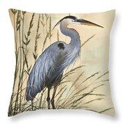 Nature's Harmony Throw Pillow