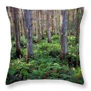 Nature's Heartbeat Throw Pillow