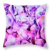 Natures Interpretation Of Butterflies Throw Pillow