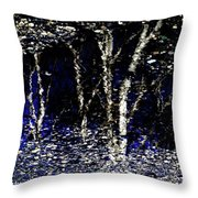 Natures Looking Glass 5 Throw Pillow