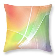 Nature's New Art Over My Head New Years Morning 2014 Throw Pillow