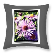 Natures Paint Throw Pillow