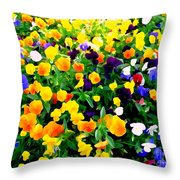 Natures Palette #1 Throw Pillow