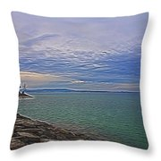 Nature's Palette - 3 Throw Pillow