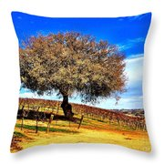 Nature's Protection Throw Pillow
