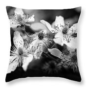 Nature's Receptors Throw Pillow