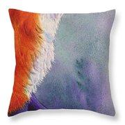 Natures Redhead Throw Pillow