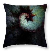 Nature's Rex Begonia Throw Pillow
