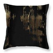 Nature's Secret Code - The Wood Grain Message #3 Throw Pillow