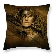 Nature's Spotted Ghost Throw Pillow
