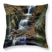 Nature's Tears Throw Pillow