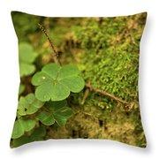 Natures Tiny Work Throw Pillow