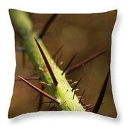Nature's Torment Throw Pillow