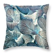 Nature's Tracery Throw Pillow