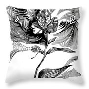 Nature's Waves Throw Pillow
