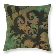 Natures Whimsy 4 By Madart Throw Pillow