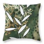 Natures Whimsy 5 By Madart Throw Pillow