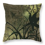 Natures Whimsy 6 By Madart Throw Pillow
