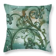 Natures Whimsy 9 By Madart Throw Pillow