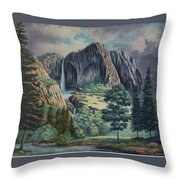Natures Wonder Throw Pillow