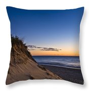Nauset Beach Sunrise Throw Pillow