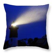 Nauset Light Storm Throw Pillow
