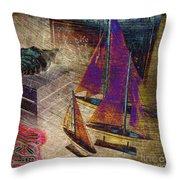 Nautica-iii Throw Pillow